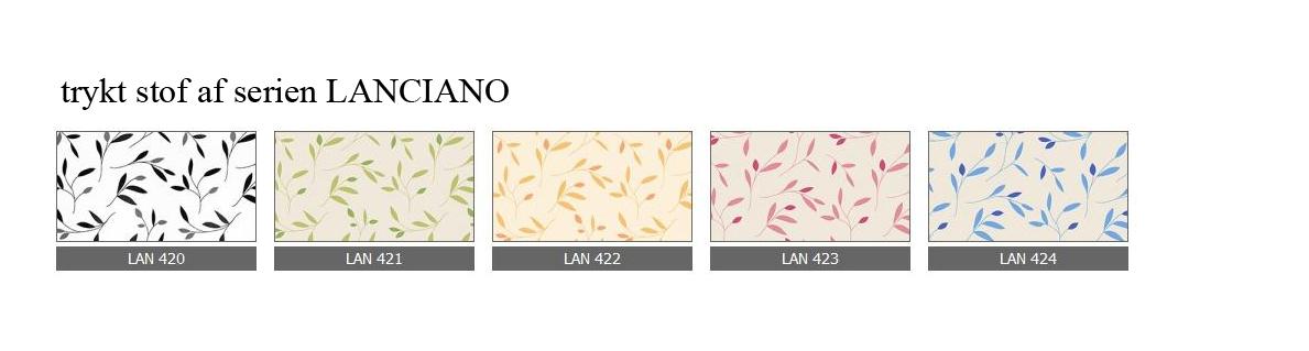 trykt stof af serien LANCIANO